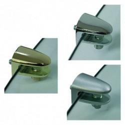 MORSETTO REGGICRISTALLO alluminio - pz. 2