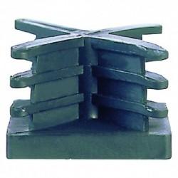 PUNTALE ALETTATO mm 40 X 40 - pz. 2