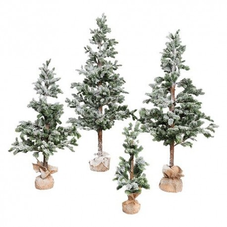 PINETTO INNEVATO 'REAL TOUCH' h. 120 cm - 476 rami - base 50 cm