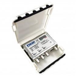 AMPLIFICATORE 2 ING.UHF+VHF-30DB