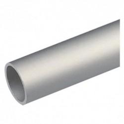 PROFILO PER FAI DA TE TIPO TONDO mm 20X1 - mt 2 col.argento